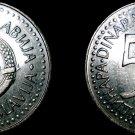 1985 Yugoslavia 50 Dinara World Coin