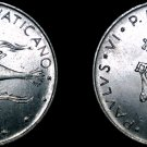 1974 Vatican City 10  Lire World Coin - Catholic Church Italy
