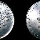 1974 Vatican City 50 Lire World Coin - Catholic Church Italy