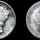 1938-S Mercury Dime Silver