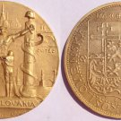 1939 New York World's Fair Czechoslovakia Nazi Oppression Medal