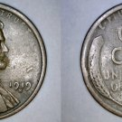 1919-S Abraham Lincoln Wheat Penny