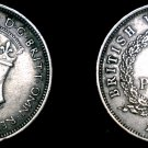 1940-KN British West Africa 3 Pence World Coin