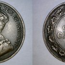 1914 Canadian 1 Large Cent World Coin - Canada