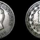 1952 El Salvador 10 Centavo World Coin