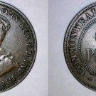 1917 Australian 1 Penny World Coin - Australia