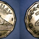 1981 Uruguay 20 Centesimo World Coin