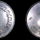1965 French 1 Centime World Coin - France
