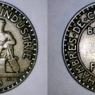 1925 French 2 Franc World Coin - France