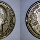 1941 French 2 Franc World Coin - France