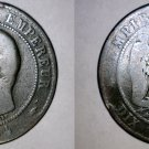 1854-A French 10 Centimes World Coin - France