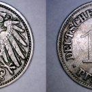 1911-G German 10 Pfennig World Coin -  Germany