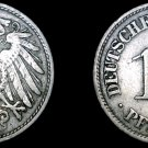 1906-F German 10 Pfennig World Coin -  Germany