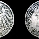 1900-F German 10 Pfennig World Coin -  Germany