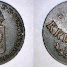1816-A Austrian 1/2 Kreuzer World Coin - Austria