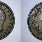 1885 Portuguese 20 Reis World Coin - Portugal