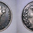 1886 Great Britain 3 Pence  World Silver Coin - UK