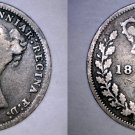 1878 Great Britain 3 Pence  World Silver Coin - UK