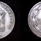 1958 Venezuelan 5 Centimos World Coin - Venezuela