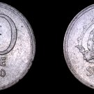 1950-TS Sweden 10 Ore World Silver Coin
