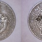 1938(a) French Indochina 5 Cent World Coin - Vietnam