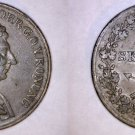 1843 Swedish 1 Skilling World Coin - Sweden