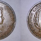 1960 East Caribbean States 1 Cent World Coin