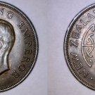 1941 New Zealand Half 1/2 Penny World Coin