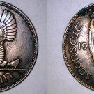 1935 Irish 1  Penny World Coin - Ireland
