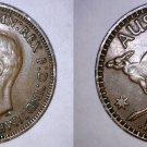 1942-I Australian 1 Penny World Coin - Australia - Kangaroo