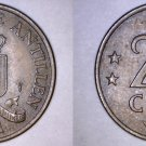 1971 Netherlands Antilles 2-1/2 Cent World Coin