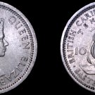 1956 East Caribbean States 10 Cent World Coin