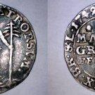 1745-IBH German St Brunswick-Wolfenbuttel 2 Mariengroschen World Coin - Holed