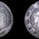 1866/5-PTS FP Bolivian 1/5 Boliviano World Silver Coin - Bolivia - Holed