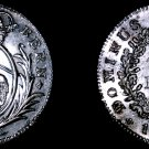 1808 Swiss Cantons Bern 5 Batzen World Silver Coin - Holed