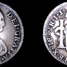 1792-LIMAE IJ Peruvian 2 Reales World Silver Coin - Peru - Holed - Countermarked