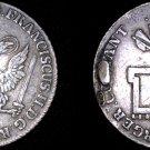 1796-OHK German States Hamburg 32 Schilling World Silver Coin - Mount Removed