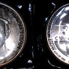 1990 Nolan Ryan 300th Victory Commemorative Silver Round