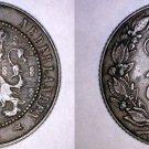 1906 Netherlands 2-1/2 Cent World Coin