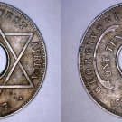 1947 British West Africa 1/10th Penny World Coin