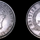 1939-H British West Africa 3 Pence World Coin