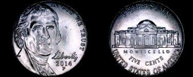 2014-P Jefferson Nickel