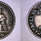 1924 French 1 Franc World Coin - France - Open 4