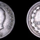 1956 El Salvador 5 Centavo World Coin