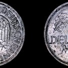 1950 J German 1 Mark World Coin -  Germany