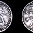 1966 Portuguese 5 Escudos World Coin - Portugal - Ship