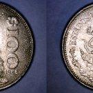 1988 Mexican 100 Peso World Coin - Mexico Carranza