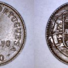 1920 Portuguese 1 Centavo World Coin - Portugal