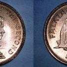 1974 Falkland Islands 1 Penny World Coin - Penguins