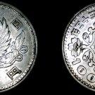 1957 (Yr32) Japanese 100 Yen World Silver Coin - Japan